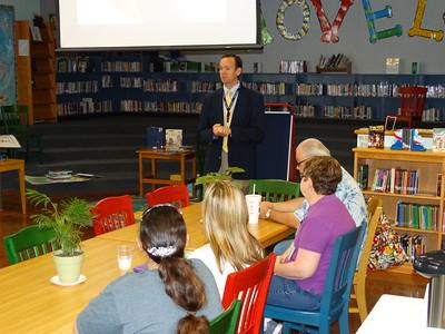 Bayside Intermediate Principal Visits Stewart Elementary