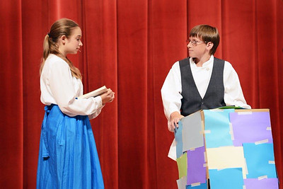 Beauty and the Beast at Westbrook Intermediate