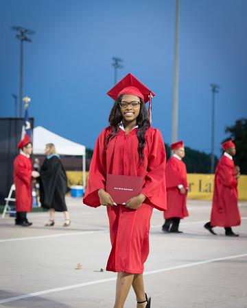 Clear Brook High School Graduation