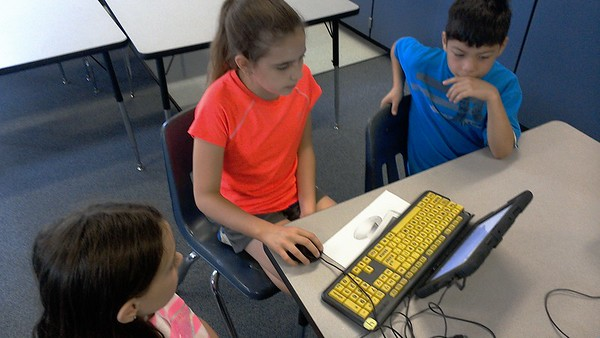 Digital Citizenship Lessons at Falcon Pass Elementary