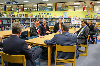 Michael Dell Visits Clear Lake City Elementary