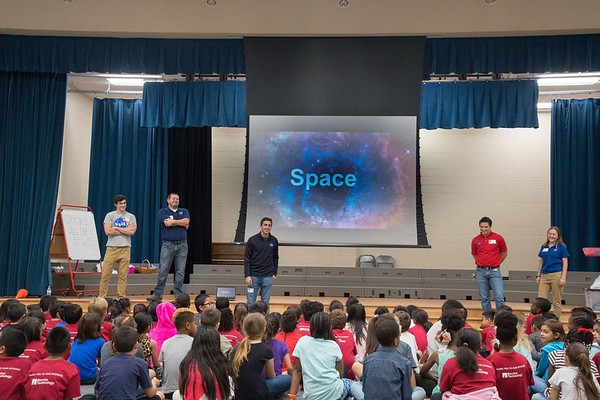 NASA at McWhirter