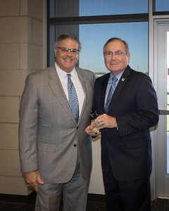CCISD Recognizes UHCL President William Staples