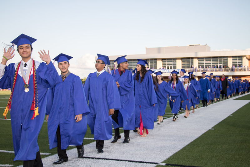 Clear Lake High School Graduation