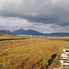 peat bog with peat cutting Elgol - 08