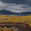 peat bog with peat cutting Elgol - 09