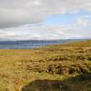 peat bog with peat cutting Elgol - 13