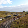 peat bog with peat cutting Elgol - 10