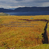 peat bog with peat cutting Elgol - 01