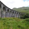 Glenfinnan viaduct (track under bridge 13E) - 3