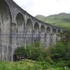 Glenfinnan viaduct (track under bridge 13E) - 4