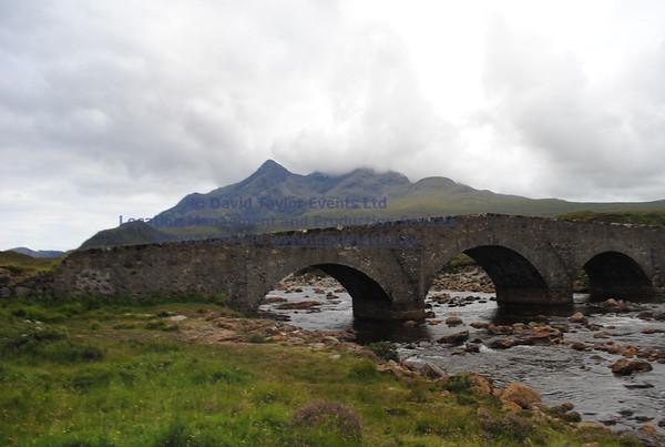 Sligachan Bridge and river - 09