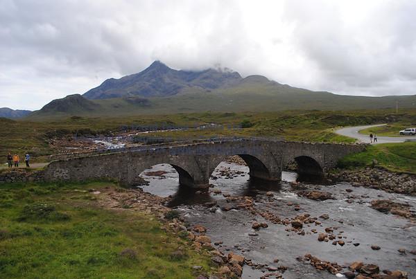 Sligachan Bridge and river - 11