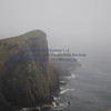 Neist Point (top Cliffs in heavy rain  9S) - 1