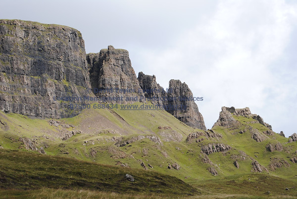 Track Bottom of Quiraing By cemetery - 09