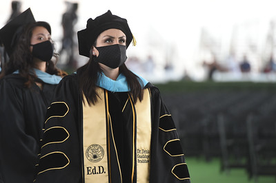 Charter College of Education Commencement Ceremony, Class of 2020. Photo by Robert Huskey / Cal State LA