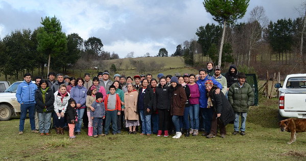 Community Conservation Resilience Initiative assessment in Chile