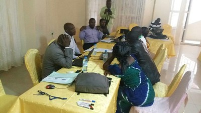 Community Conservation Resilience Initiative assessment in DRC