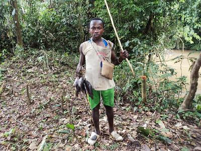 Fisherman in DRC