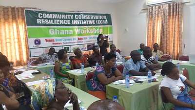 CCRI workshop in Ghana 2017