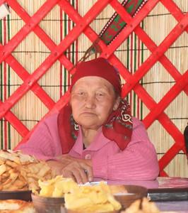 Batma Inarbekova, Shabdan village, Kygyzstan