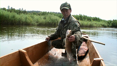 Fishing on Bikin river CCRI