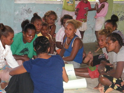 CCRI with community in Fera Sabua, Solomon Islands