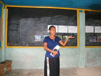 CCRI with community in Fera Sabua, Solomon Islands