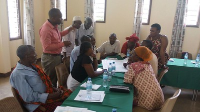 CCRI workshop, Tanzania