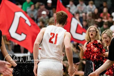 CCS Boys Varsity Basketball Senior Night 2020