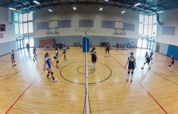 Volleyball, Jr. High - October