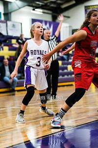 Community Christian School Junior High Basketball vs Luther.