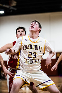Community Christian School Varsity Basketball vs Davis, Big 8 Championship