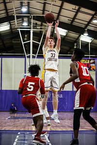 Community Christian School Varsity Basketball vs HFC