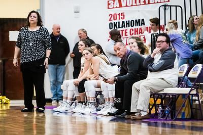 Community Christian School Varsity Basketball vs Wynnewood