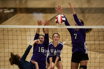 Volleyball at State Semi-Final, October 9