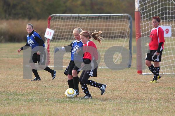 U-12 Girls Amelia vs NR '10