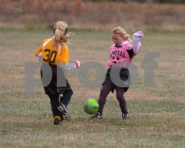 U-8 girls WB vs Amelia '10