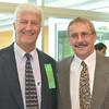 Former Johnstown High coach Paul Litwalk poses with Bob Manculich.