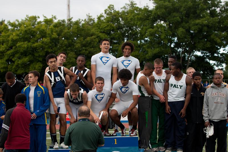 Boys 4 X100 Meter Finals-6164