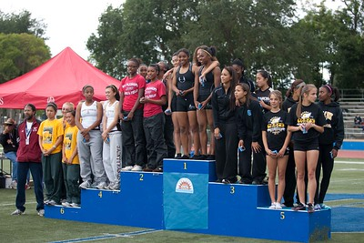 Girls 4 X 100 Meter Relay Final