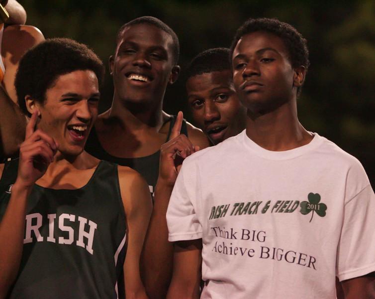 Boys 4 X400 Meter Finals-7243