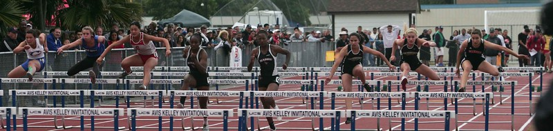 Girls 100 M Hurdles Finals-6361