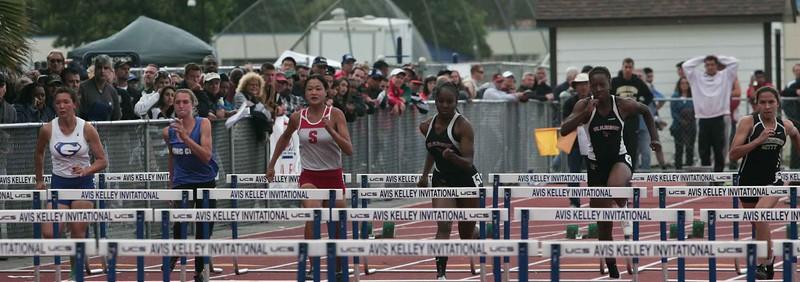 Girls 100 M Hurdles Finals-6360