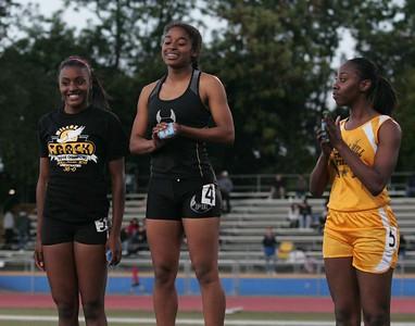 Girls 200 Meter Finals