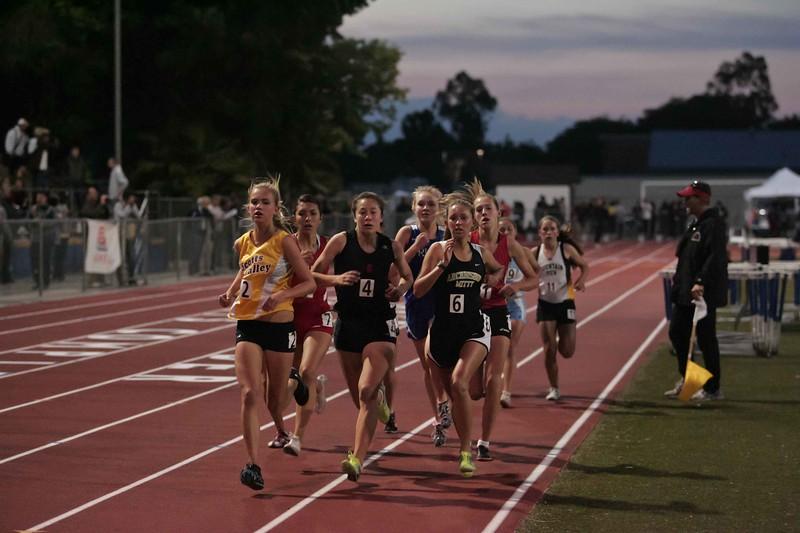 Girls 3200 Meter Finals-7039