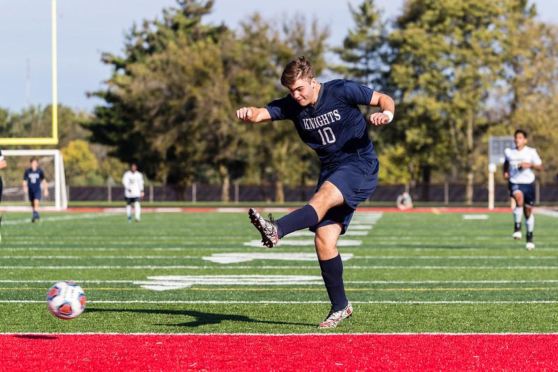 CC Boyls Varsity Soccer vs University