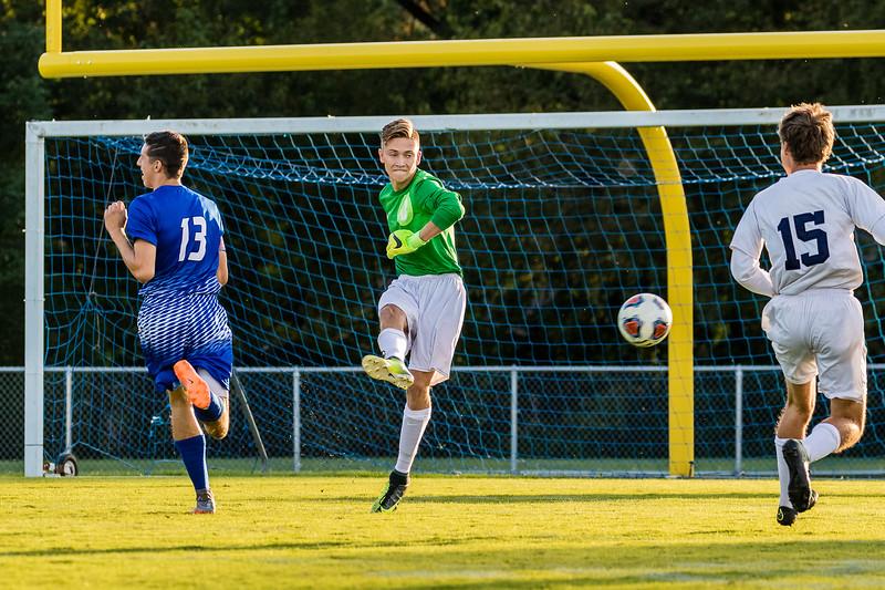 CC Varsity Boys Soccer vs Tipton