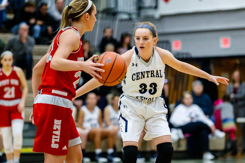 CC Girls Varsity Basketball vs West Lafayette