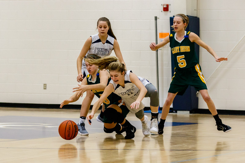 CC Grade 8 Girls  Basketball vs Benton Central